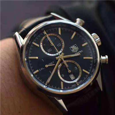 【视频解析】V6厂1:1复刻手表之泰格豪雅卡莱拉系列CAR2110.FC6266腕表