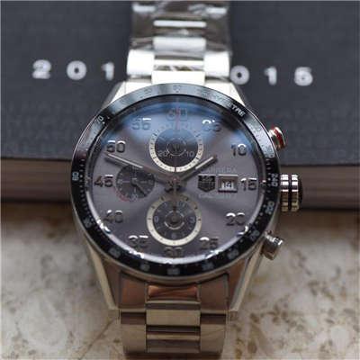 【视频评测HBBV6厂级复刻手表】泰格豪雅卡莱拉系列CAR2A11.BA0799腕表