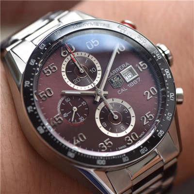 【HBBV6厂一比一复刻手表】泰格豪雅卡莱拉系列CV2013.BA0786腕表