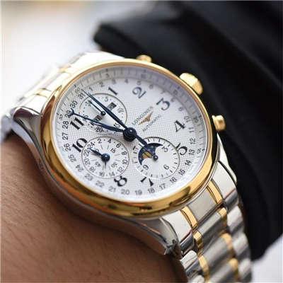 【视频评测YL厂复刻手表】浪琴名匠 L2.773.4.78.6月相 最新登场男表(认准自动锤L678.2刻字)
