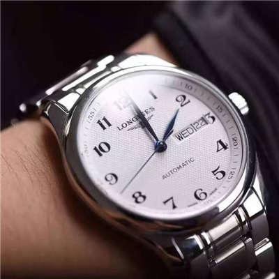 【视频评测YL厂1:1复刻手表】浪琴名匠系列名匠双历L2.755.4.78.6腕表