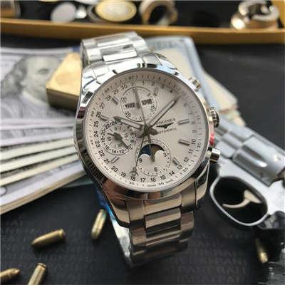 【视频评测YL厂复刻手表】浪琴康铂系列月相腕表L2.798.4.72.6