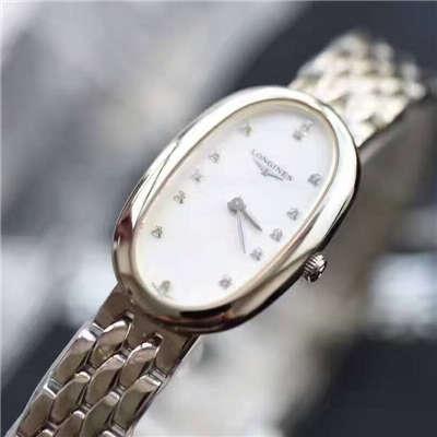 【视频评测KZ台湾厂超A复刻手表】浪琴优雅圆舞曲系列L2.305.4.87.6女士石英腕表