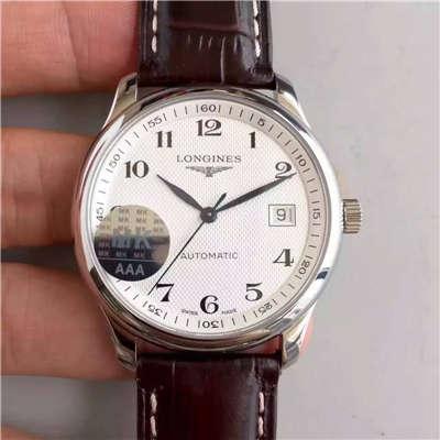 【MK厂一比一超A精仿手表】浪琴LONGINES制表传统《名匠系列》L2.518.4.78.3机械腕表价格报价