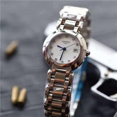 【KZ台湾厂一比一高仿手表】浪琴优雅系列L8.109.4.87.6女士石英腕表价格报价