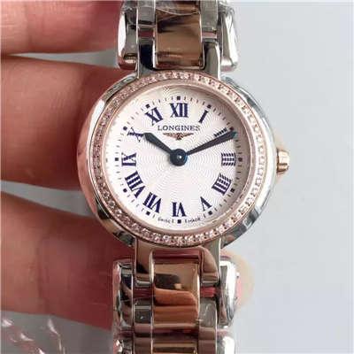 【KZ台湾厂超A复刻手表】浪琴优雅PRIMALUNA心月系列L8.109.5.79.6腕表