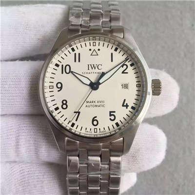 【MK1:1复刻手表】万国飞行员马克十八飞行员腕表系列IW327002腕表《精钢表带款》价格报价