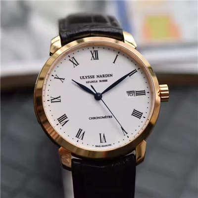 FK厂一比一精仿手表雅典鎏金系列8156腕表