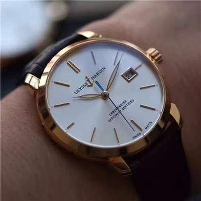 【FK厂一比一精仿手表】雅典鎏金系列8156-111-2/90腕表