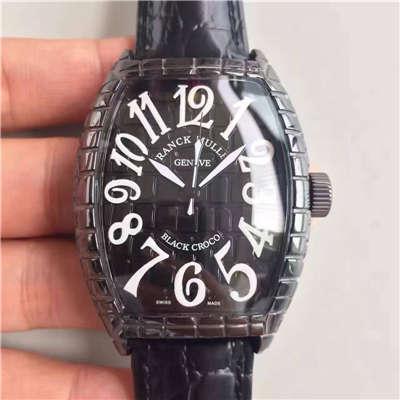 【FM一比一高仿手表】法穆兰BLACK CROCO系列8880 SC BLACK CROCO腕表