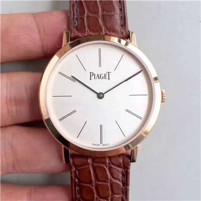 【台湾工厂1:1复刻手表】伯爵ALTIPLANO系列G0A31114腕表