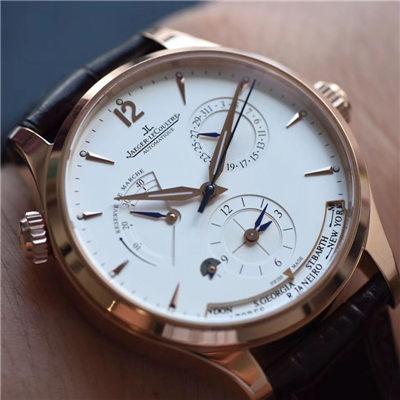 【TW一比一超A高仿手表】积家大师 MASTER CONTROL系列Q1422521双时区腕表价格报价