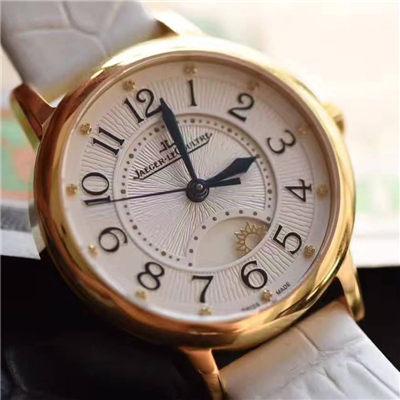 【TF一比一超A高仿手表】积家约会系列新款约会系列3441420女士黄金壳机械腕表