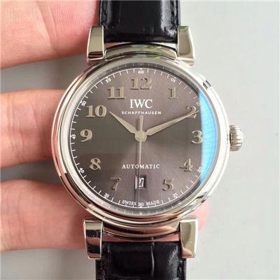 【MK一比一超A高仿手表】万国达文西系列IW356601 《白面》IW356602《灰面》腕表