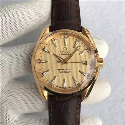 【KW厂级复刻手表】欧米茄海马系列《AQUA TERRA 150米系列 》231.53.42.21.08.001腕表