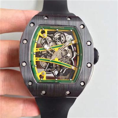 【KV厂一比一顶级精仿手表】理查德米勒男士系列RM 61-01 YOHAN BLAKE腕表