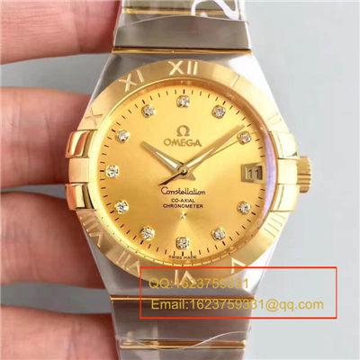 【SSS一比一精仿手表】欧米茄双鹰星座系列123.20.38.21.58.001腕表