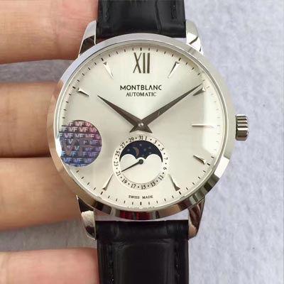 【VF厂一比一复刻精仿手表】万宝龙Heritage Spirit系列U0110699月相腕表价格报价