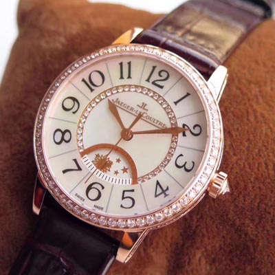 【TF一比一超A高仿手表】积家约会系列 Rendez-Vous Classic 3432490、3433490女士腕表