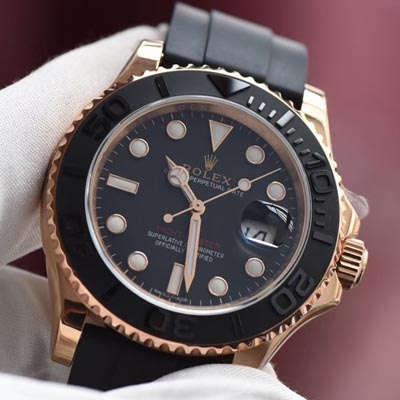 【视频评测JF厂顶级复刻手表】劳力士游艇名仕型系列116655-Oysterflex bracelet男士腕表