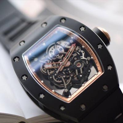 【独家视频评测KV一比一超A精仿手表】理查德米尔RICHARD MILLE男士系列RM 055腕表