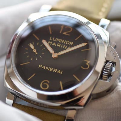 【视频评测SF一比一超A高仿手表】沛纳海LUMINOR 1950系列PAM00422腕表