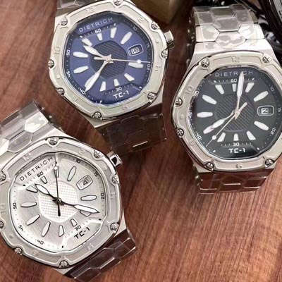 【正品,专柜最新款同步发售】德国品牌Dietrich帝特利威男士腕表,TC-1系列