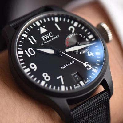 【YL一比一超A高仿手表】万国大飞大型飞行员系列TOP GUN海军空战部队腕表系列IW502001腕表