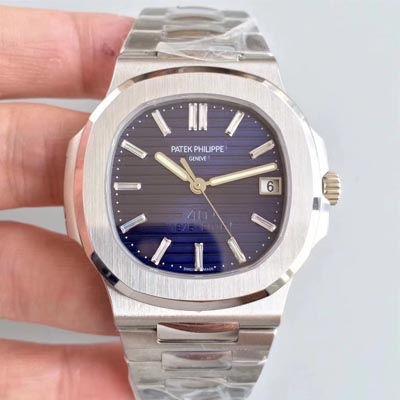 【PF一比一超A高仿手表】百达翡丽Nautilus系列 四十周年纪念腕表5711/1P-001