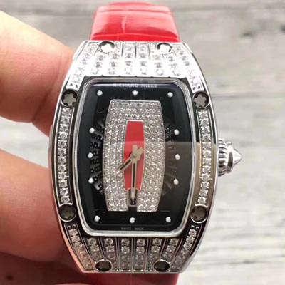 理查德米勒RICHARD MILE 女士系列RM 07 红唇女士机械腕表