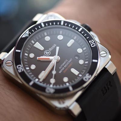 【BR一比一超A高仿手表】柏莱士INSTRUMENTS系列BR 03-92 DIVER腕表