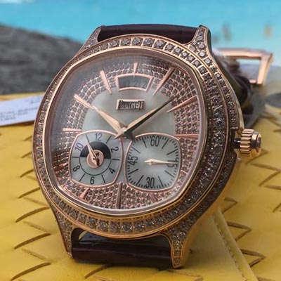 【台湾一比一超A高仿手表】伯爵BLACK -TIE系列G0A32018腕表