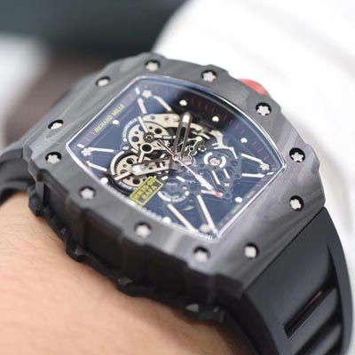 【独家视频评测KV一比一超A高仿手表】理查德米勒男士系列RM 35-01 RAFAEL NADAL腕表