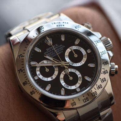 【AR厂顶级复刻手表】劳力士宇宙计型迪通拿系列116520-78590 黑盘腕表(黑钢迪)、116520-78590 白盘腕表(白钢迪)