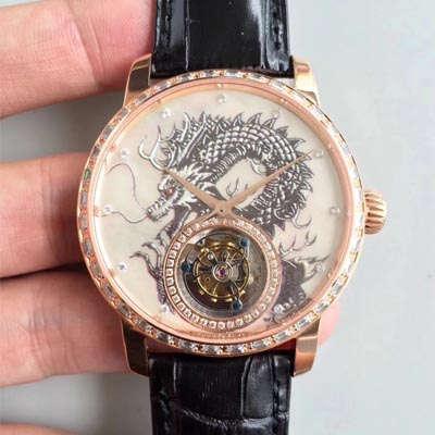【LH一比一超A高仿手表】江诗丹顿(Vacheron Constantin)中国龍限量版(龙戏珠)陀飞轮腕表