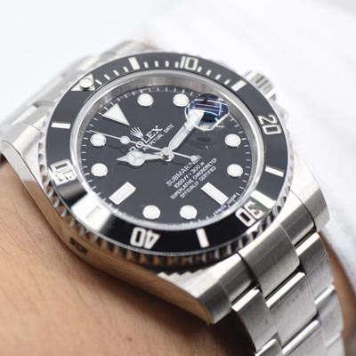 【AR一比一超A高仿手表】劳力士潜航者型系列116610LN-97200 黑盘腕表(黑水鬼)