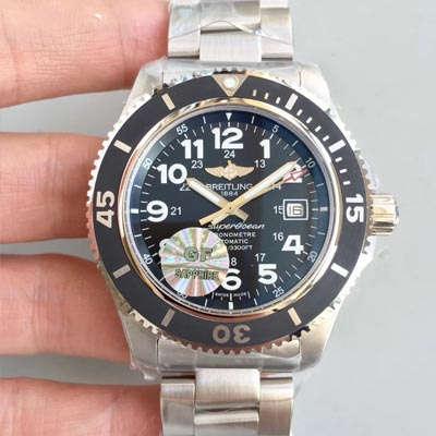 【GF一比一超A高仿手表】百年灵超级海洋二代系列腕表(SUPEROCEAN Ⅱ)A17392D7/BD68/162A腕表价格报价
