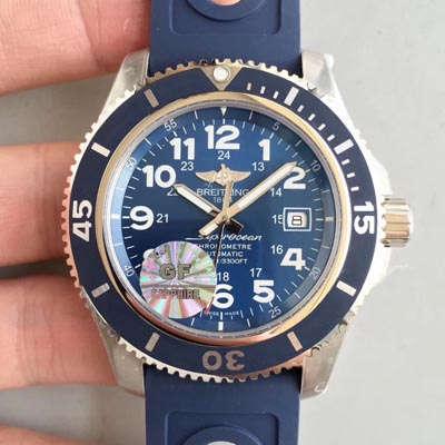 【GF一比一超A高仿手表】百年灵超级海洋系列A17392D8|C910|228S|A20SS.1腕表价格报价