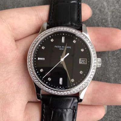 百达翡丽Patek Philippe 古典表系列5297G 机械白金腕表