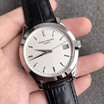 【台湾一比一超A高仿手表】百达翡丽Patek Philippe-古典表系列 5296G-010男士机械手表