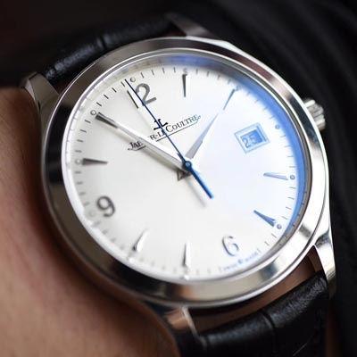 【视频评测ZF一比一超A高仿手表】积家大师系列1548420腕表价格报价