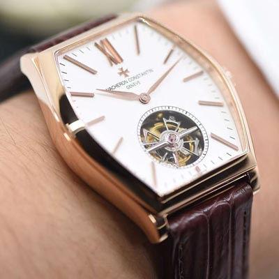 【TF一比一超A精仿手表】江诗丹顿马耳他系列30130/000R-9754手动陀飞轮机械腕表