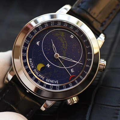 【视频评测】高仿百达翡丽超级复杂功能计时系列6102P-001 、6104G-001、铂金腕表/6102R-001 玫瑰金腕表