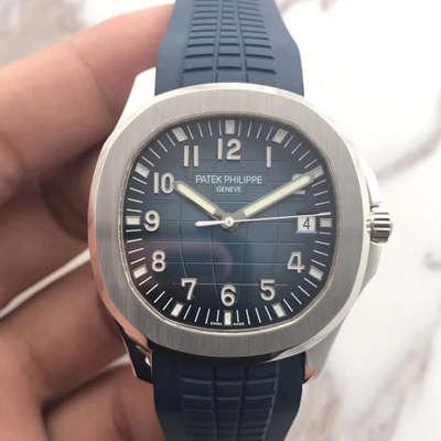 【BP一比一超A复刻手表】百达翡丽AQUANAUT手雷系列5168G-001腕表