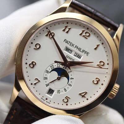 【台湾厂1:1超A高仿手表】百达翡丽复杂功能计时系列5396R-011腕表