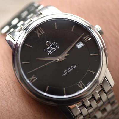 【MK厂1:1顶级复刻手表】欧米茄碟飞系列424.10.33.20.01.001 机械腕表