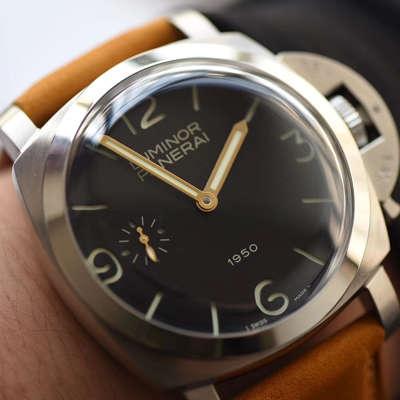 【NOOB厂一比一超A高仿手表】沛纳海限量珍藏款系列PAM00127腕表