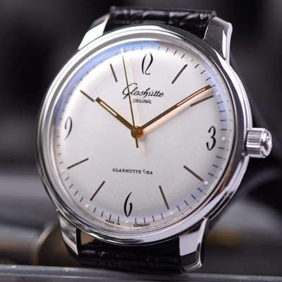 【YL厂出品】格拉苏蒂原创20世纪复古系列1-39-52-01-02-04男士机械腕表
