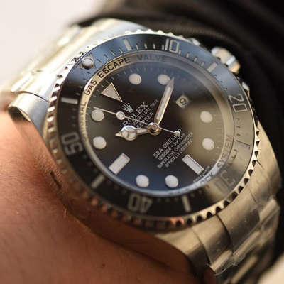 【独家视频评测NOOB厂V7版本一比一超A高仿手表】劳力士海使型系列116660-98210 黑盘腕表(大号黑水鬼王)