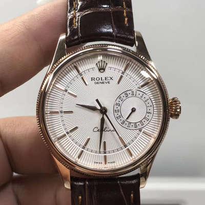 【VF一比一超A高仿手表】劳力士切利尼日历型系列50515、m50519-0013、50519白盘、黑盘腕表